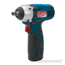 """SILVERLINE 10.8V LITHIUM LI-ION 3/8"""" DRIVE CORDLESS IMPACT WRENCH RATCHET NEW"""