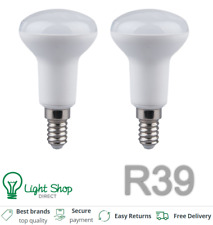 2 X Led 3W = 20W R39 Reflector Spot Luces, techos, Bombilla LED de estado, ses E14