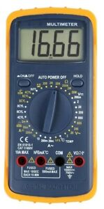 DURATOOL D03145 Multimeter With Automotive Ranges 600V AC/DC