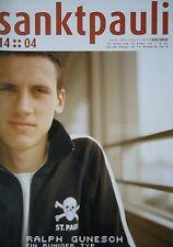 Programm 2003/04 FC St. Pauli Am. - FC Schalke Am.