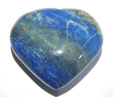 63 grams lapis lazuli rock heart shape feng shui reiki energy gift metaphysical
