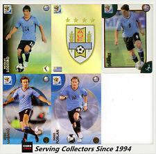 2010 Panini South Africa World Cup Soccer Cards Team Set Uruguay (5)