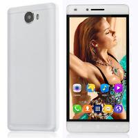 "Cheap Unlocked 5"" Android 6.0 Mobile Smart Phone GPS Quad Core Dual SIM WiFi 3G"