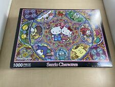 1000 Piece Jigsaw Puzzle Sanrio Sanrio Stained Glass Musical (49 x 72 cm)