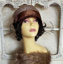 Vintage Style Hat, Cloche Hat, 1920s Hat