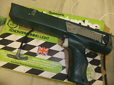 Car GUNSONS TACHOSTROBE in green original box little used