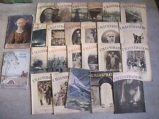 L'illustration année 1934 - Lot de 26 numéros
