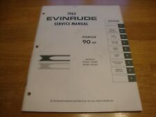 1965 Evinrude 90 HP Starflite Factory service repair manual 4206