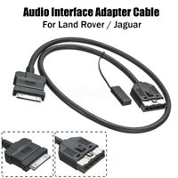 Car Adapter Audio Interface Cable Lead Aux For Land Rover Jaguar Range iPAD ipod