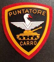 RARA Toppa/Patch/Scudetto  in stoffa Orig. Puntatore carristi Esercito Italiano