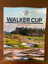 New listing 2021 Walker Cup program from Seminole Golf Club in Brand New Condition