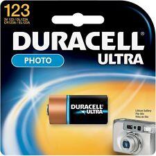 Duracell Ultra Photo Battery 3 Volt 123 1 Each (Pack of 4)