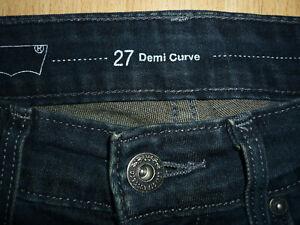 JEANS 27 Demi Curve Mid Rise Skinny Levis  ( Gr.36-38)  - wie siehe fotos