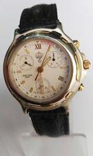 Favre Leuba Geneve Tachymetre Jordan King Hussein Queen Noor Men's Swiss Watch