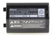 Original Nikon EN-EL4 Akku Batterie Battery Pack Accu - Li-ion 11.1V 1900mAh