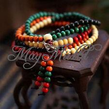 188 Beads Tibetan Buddha Wingceltis Sandalwood Prayer Mala Buddhist Bracelet G
