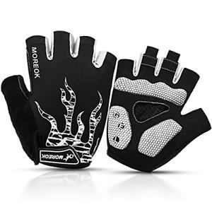 Cycling Gloves Half Finger Bike Gloves Fingerless Mountain Bike Gloves for Men &