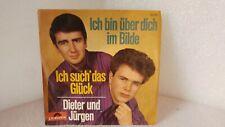 """Dieter und Jürgen , 1 st Press 1966, ich bin über dich im Bilde, - 7"""" Single"""