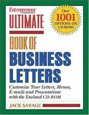 Ulimate Book of Business Letters (Entrepreneur Mag