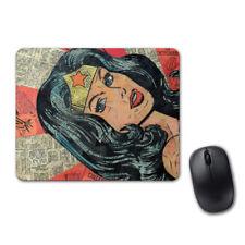 Wonder Woman Comics Lovely Mouse Pad Computer PC Laptop Mice Mat