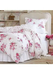 NEW Simply Shabby Chic Sunbleached Floral  King Duvet Set