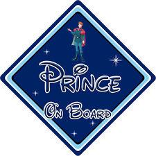 Disney Prince On Board Car Sign Baby On Board Sleeping Beauty Prince Phillip DB
