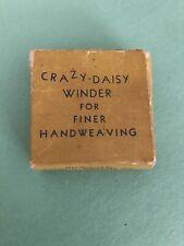 Vintage Crazy - Daisy Winder for Finer Handweaving Flower Loom