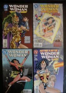 Wonder Woman comics 4 COMIC LOT