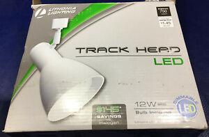 Lithonia Lighting 1-Light White LED BR30 Track Light head