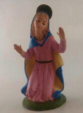 """Fontanini Depose Italy Nativity Mary 4 1/2"""" Spider Mark"""