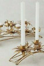 NWT SOLD OUT Anthropologie BHLDN SECRET GARDEN CANDLE HOLDER Handmade Goldtone