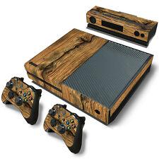 Xbox One Design pelle sventa Adesivo Pellicola Protettiva Set - vecchio legno