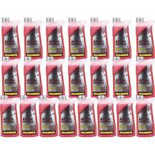 22x1 Liter MANNOL Kühlerfrostschutz Antifreeze AF 12+ Frostschutz -40°C rot rosa