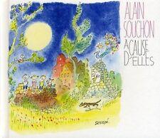 Alain Souchon CD À Cause D'elles - Deluxe Edition, Digibook - France (M/M)