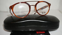 RAY BAN Frame RX Eyeglasses New Havana Brown Horn Beige RX5354 5677 48 21 145