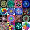 5D DIY Full Drill Diamond Painting Kit Art Craft Home Decor Mandala + Free Gift