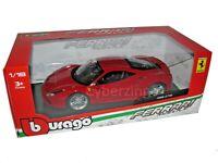 Ferrari 488 GTB Race And Play Bburago 1:18 Red Diecast Model Car NEW IN BOX