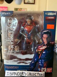 Injustice Superman S.H.Figuarts Bandai Figure. NIB