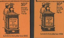 GB QEII 1971 British Pillar Box Series (1855 type) Two x 10p,  DN46 & DN47