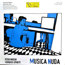 Petra Magoni, Ferruccio Spinetti - Musica Nuda VINYL 180 Gr. LP - NEW & SEALED!!