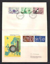 1961 Guernsey Isle of Jethou Europa Birds Cover
