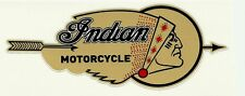 """"""" INDIAN MOTORCYCLE """" VINYL DECAL STICKER Scout Chief CAFE RACER ARIEL BSA HOG"""