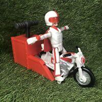 "Disney Pixar Toy Story 4 Stunt Racer Duke Caboom, 5.9"" Tall - Pop A Wheelie"