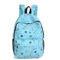Good Canvas Ladies Korean Backpack College Style Simple High School Leisure Bags