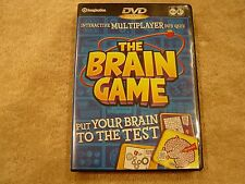 Interactive Multiplayer DVD Quiz The Brain Game DVD Quiz Game By Imagination
