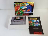 Super Mario World 2: Yoshi's Island (Super NES, SNES) CIB, excellent condition
