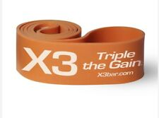 X3 Bar Elite Band. Latex Fitness band. Extreme Resistance.