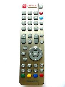 SHARP AQUOS RF TV REMOTE CONTROL for LC43CUG8462KS LC49CUG8461KS LC55CUG8462KS