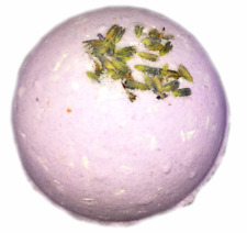 Bath Bomb 5oz Lavender Sky Essential Oil & Epsom, Dead Sea and Himalayan Salts