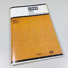 Case 1150c Crawler Tractor Dozer Bulldozer Track Loader Operators Owners Manual